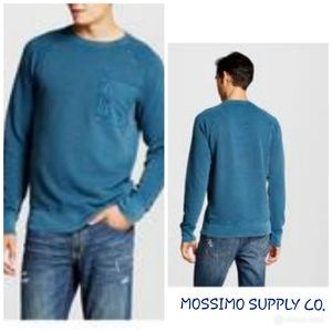 MOSSIMO SUPPLY CO'. MENS PULLOVER  SHIRT